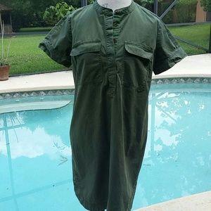 J CREW Short sleeve Shirt dress